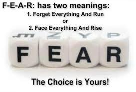 mengatasi rasa takut